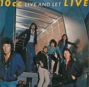 10CC Live And Let Live Vinyl Record LP Mercury 1977