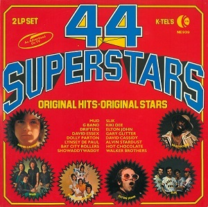 44 Superstars Vinyl Record LP K-Tel
