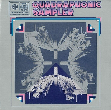 4D Quadrophonic Sampler LP Vinyl Record Album 33rpm Pye 1971
