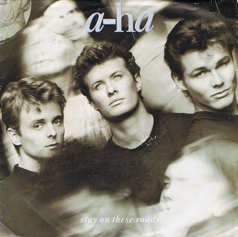 "A-HA Stay On These Roads 7"" Single Vinyl Record 45rpm Warner Bros. 1988."