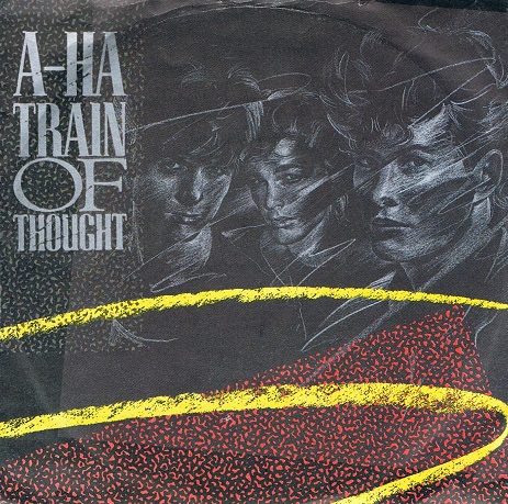 "A-HA Train Of Thought 7"" Single Vinyl Record 45rpm Warner Bros. 1985"