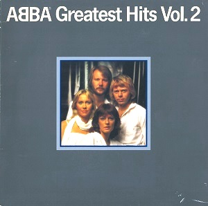 ABBA Greatest Hits Vol.2 Vinyl Record LP Danish Polar 1979