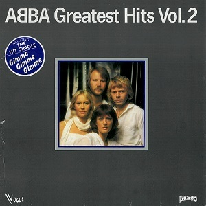 ABBA Greatest Hits Vol.2 Vinyl Record LP French Vogue 1979