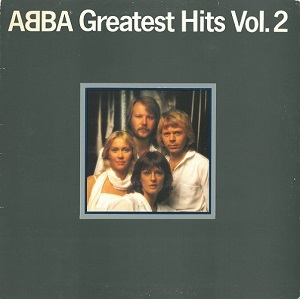 ABBA Greatest Hits Vol.2 Vinyl Record LP German Epic 1979