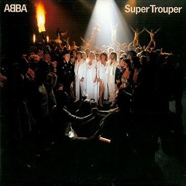 ABBA Super Trouper LP Vinyl Record Album 33rpm Canadian Atlantic 1980