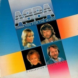 ABBA Thank You For The Music Vinyl Record LP Dutch Epic 1983