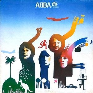 ABBA The Album Vinyl Record LP Epic 1977