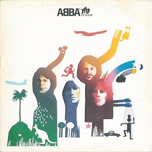 ABBA The Album Vinyl Record LP Norwegian Polar 1977