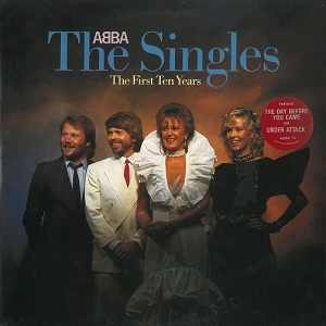 ABBA The Singles Vinyl Record LP Epic 1982