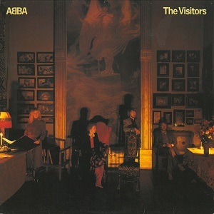 ABBA The Visitors Vinyl Record LP Epic 1981