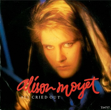 "ALISON MOYET All Cried Out 12"" Single Vinyl Record CBS 1984"