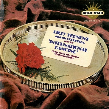 BILLY TERNENT Play For International Dancing LP Vinyl Record Album Gold Star 1974