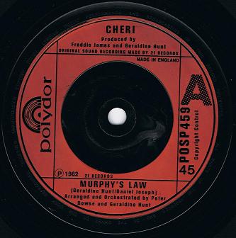 Cheri - Murphys Law