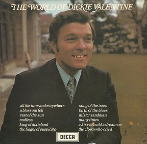 DICKIE VALENTINE The World Of Dickie Valentine Vinyl Record LP Decca 1971