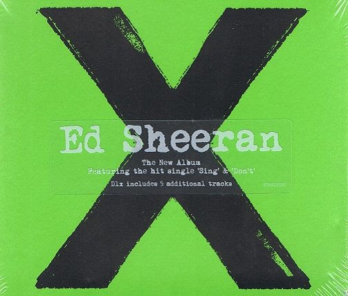 Ed Sheeran X Multiply Cd Album Asylum 2014