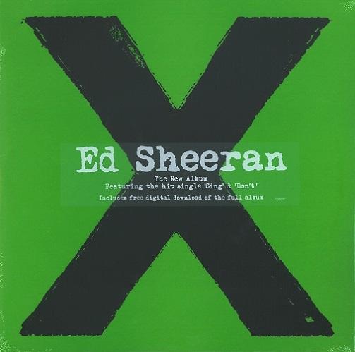 Ed Sheeran Multiply Vinyl Record Lp 2014 Planet Earth