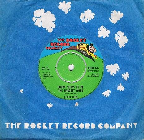 Rocket man single vinyl
