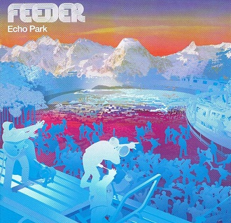 FEEDER Echo Park CD Album Echo 2001