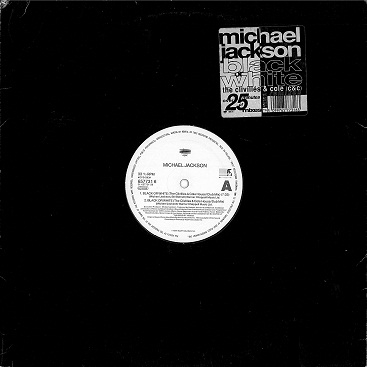 "MICHAEL JACKSON Black Or White (The Clivilles & Cole (C&C) Remixes) 12"" Vinyl Record Epic 1991"