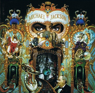 MICHAEL JACKSON Dangerous CD Album Epic 1991