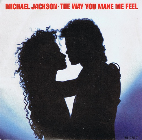 "MICHAEL JACKSON The Way You Make Me Feel 7"" Single Vinyl Record 45rpm Epic 1987"