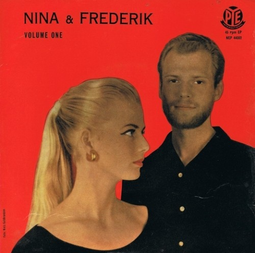 "NINA & FREDERIK Volume One EP 7"" Single Vinyl Record 45rpm Pye International 1957"