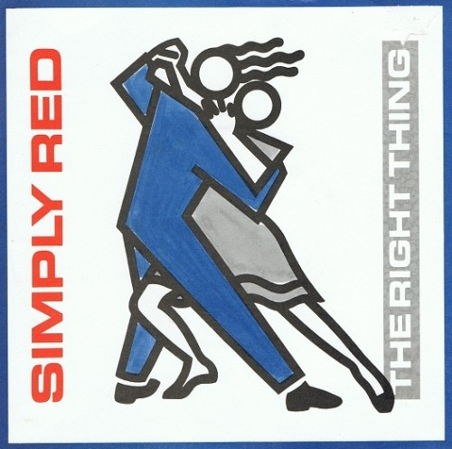 Simply red the right thing vinyl 7 inch wea yz 103 1987 for Simply singles