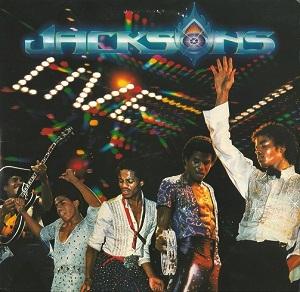 The Jacksons Live Vinyl Record Lp Epic Epc 88562