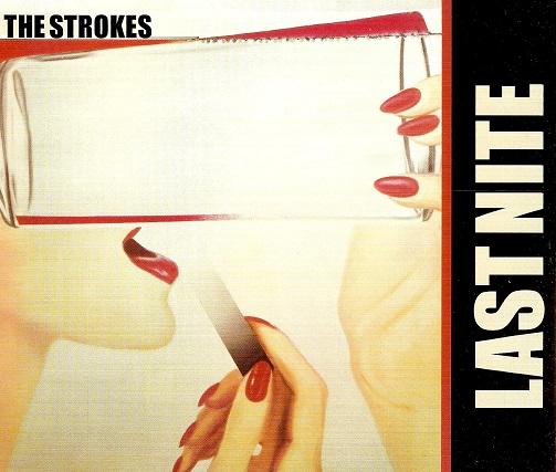 The Strokes Last Nite Cd Single Planet Earth Records