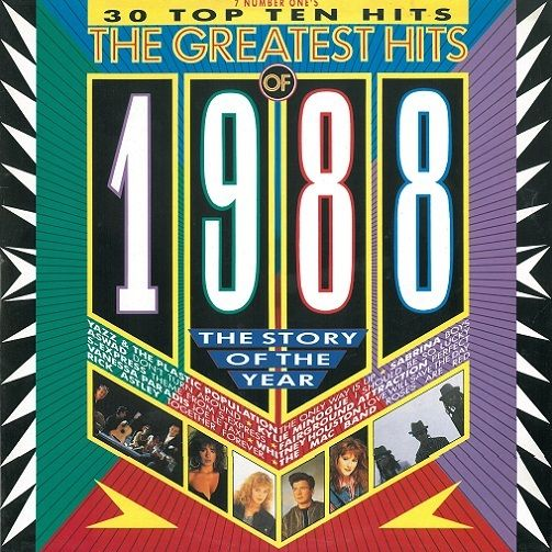 The greatest hits of 1988 vinyl lp planet earth records for Songs from 1988 uk