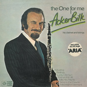 ACKER BILK The One For Me Vinyl Record LP Pye 1976