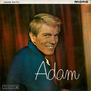 ADAM FAITH Adam Vinyl Record LP Parlophone 1960