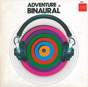 Adventure In Binaural Vinyl Record LP Japanese JVC 1976