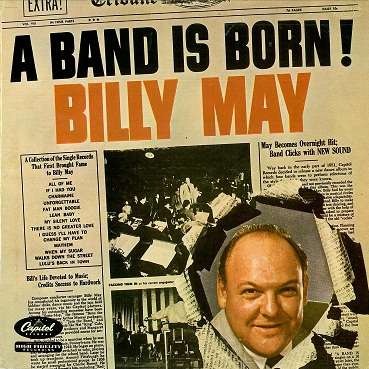BILLY MAY A Band Is Born LP Vinyl Record Album 33rpm Dutch Captiol