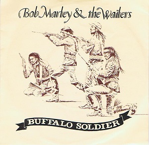 BOB MARLEY AND THE WAILERS Buffalo Soldier Vinyl Record 7 Inch Tuff Gong 1983
