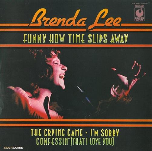 Brenda Lee Funny How Time Slips Away Vinyl Record Lp