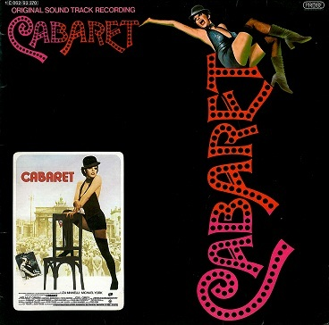 Cabaret - Original Soundtrack Recording LP Vinyl Record Album 33rpm German Probe 1972