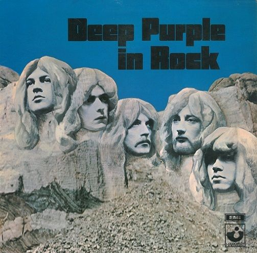 DEEP PURPLE In Rock Vinyl Record LP Dutch Harvest Green Vinyl
