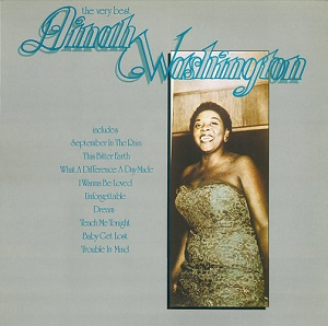 DINAH WASHINGTON The Very Best Vinyl Record LP Philips 1976