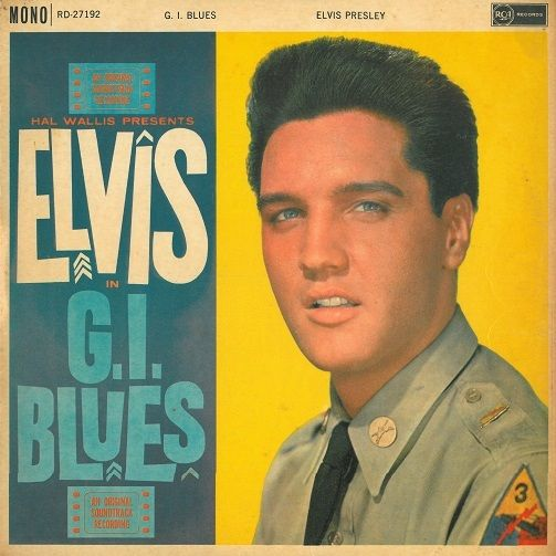 Elvis Presley G I Blues Record Album Planet Earth Records