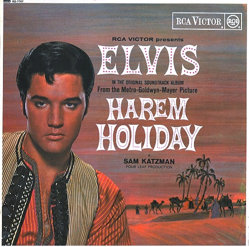 Elvis Presley Harem Holiday Vinyl Lp Planet Earth Records