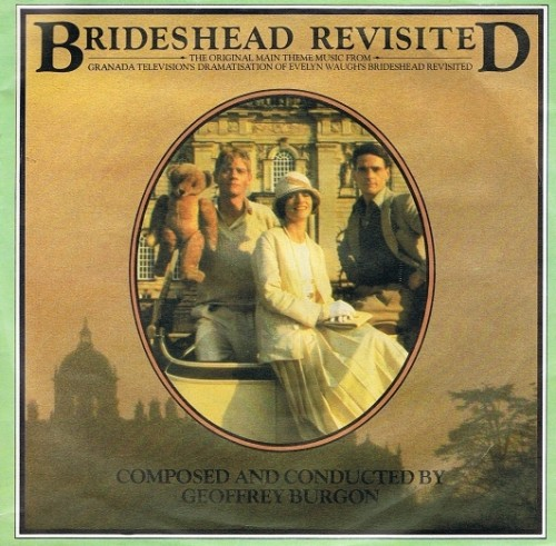 "GEOFFREY BURGON Brideshead Revisited 7"" Single Vinyl Record 45rpm Chrysalis 1981"