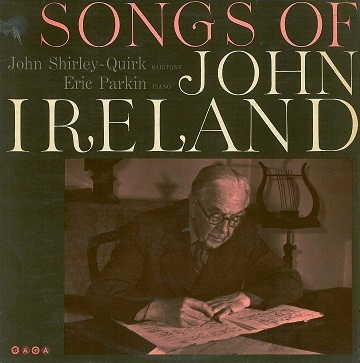 JOHN SHIRLEY-QUIRK / ERIC PARKIN Songs Of John Ireland LP Vinyl Record Album 33rpm Saga 1964
