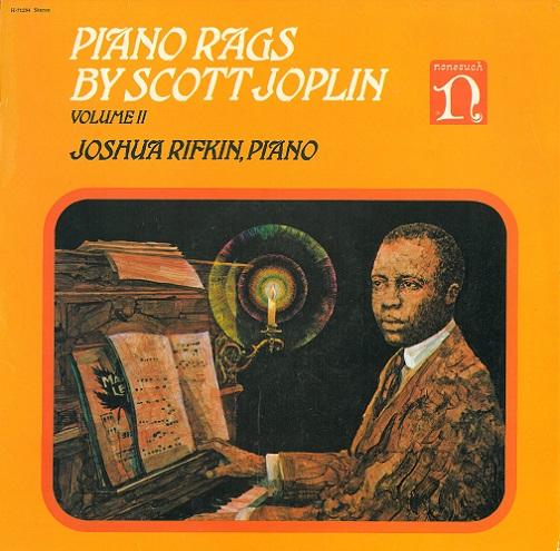 Joshua Rifkin Piano Rags By Scott Joplin Volume Ii Vinyl