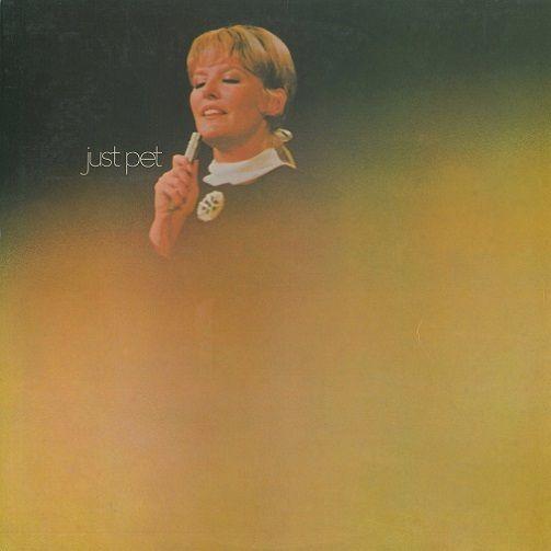 PETULA CLARK Just Pet Vinyl Record LP Pye 1969