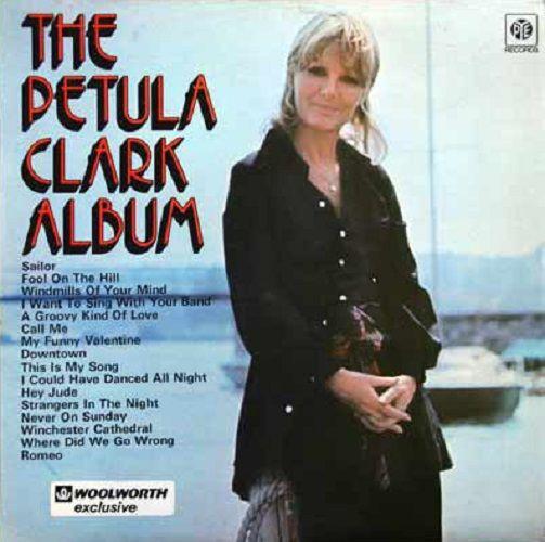Petula Clark The Petula Clark Album Vinyl Record Lp Pye 1972