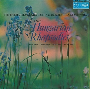Rudolph Schwarz The Philharmonia Orchestra Liszt