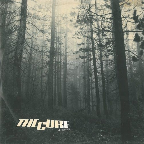 THE CURE A Forest Vinyl Record 12 Inch Fiction 1980
