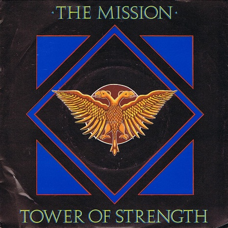 The Mission Tower Of Strength Vinyl 7 Inch Planet Earth