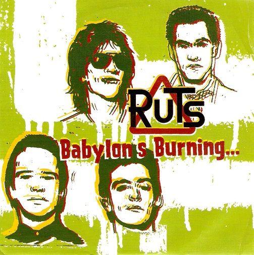 The Ruts Babylon S Burning Vinyl Record 7 Inch Dude 2004